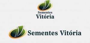 SEMENTES VITÓRIA - ESCALA DE CORES - LOGO VERTICAL E HORIZONTAL