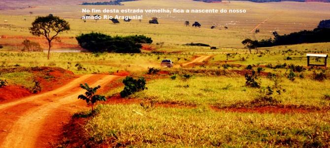 Rio Araguaia: Local exato da nascente nº 1 .