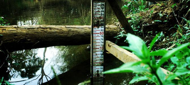Rio Meia Ponte e suas réguas fluviométricas!